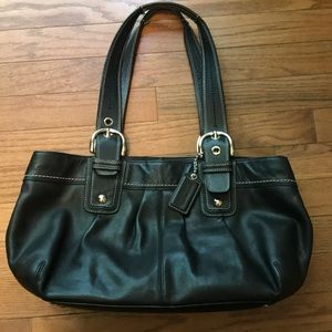 COACH Large Soho F13732 Leather Shoulder Tote Bag